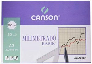 Guarro Canson 200402863 Cahier 50 feuilles papier millimétré A3 90 g de la marque Guarro Canson image 0 produit
