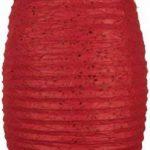 Guru-Shop Abat-jour Ovale en Papier Lokta, Lampe Suspendue Corona, Rouge, DupapierLokta, Couleur : Rouge, 50x30x30 cm, Papier Ovale D'abat-jour de la marque Guru-Shop image 1 produit