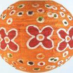 Guru-Shop Corona Rond 30 cm Rond Lokta Abat-jour Papier Abat-jour Flower Power, Orange, DupapierLokta, Couleur : Orange, Papier Abat-jour Sphérique de la marque Guru-Shop image 3 produit