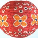 Guru-Shop Corona Rond 30 cm Rond Lokta Abat-jour Papier Abat-jour Flower Power, Orange, DupapierLokta, Couleur : Orange, Papier Abat-jour Sphérique de la marque Guru-Shop image 1 produit