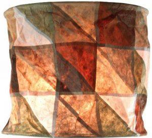 Guru-Shop Papier Ronde Lampe Suspendue, Papier Lokta Lampshade Annapurna, Papier Fait Main - la Terre, 25x28x28 cm, Papier Abat-jour Cylindrique de la marque Guru-Shop image 0 produit