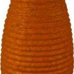 Guru-Shop Petit Abat-jour Ovale en Papier Lokta, Lampe Suspendue Corona, Rouge, DupapierLokta, Couleur : Rouge, 42x22x22 cm, Papier Ovale D'abat-jour de la marque Guru-Shop image 1 produit