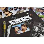 Hama 00090145 Album Photo Fine Art, 50 Pages Noires (25 Pages), Album à Spirales 28 X 24 cm, avec Découpe pour y Mettre une Photo, Noir de la marque Hama image 4 produit