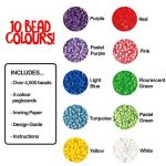 Hama 2051 - Loisirs Créatifs - Pot 4000 Perles à Repasser + 3 Plaques - Taille Midi de la marque Hama image 3 produit