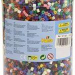Hama 211-67 - Loisirs Créatifs - Pot 13000 Perles à Repasser - Taille Midi - 22 Couleurs de la marque Hama image 1 produit