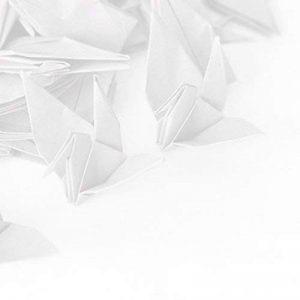 Hangnuo DIY Guirlande Papier Origami Grue avec fils de soie invisible pour fond de fête de mariage Décoration de la Maison de la marque Hangnuo image 0 produit