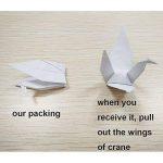 Hangnuo DIY Guirlande Papier Origami Grue avec fils de soie invisible pour fond de fête de mariage Décoration de la Maison de la marque Hangnuo image 2 produit