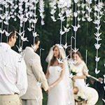 Hangnuo DIY Guirlande Papier Origami Grue avec fils de soie invisible pour fond de fête de mariage Décoration de la Maison de la marque Hangnuo image 4 produit
