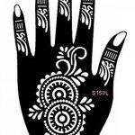 Henna Tattoo Pochoir modèle 3Sheet pour mains Terra de la marque Beyond Paradise image 2 produit