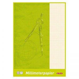 Herlitz 690305Bloc de feuilles de papier millimétré A3, 25 feuilles a3 de la marque Herlitz image 0 produit