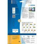 Herma 5140 Étiquettes 63,5 x 29,6 A4 540 pièces Jaune fluo de la marque HERMA image 3 produit