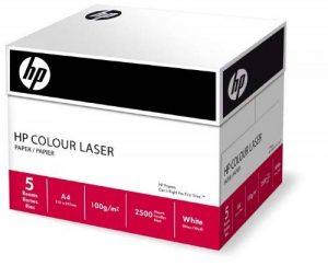 Hewlett Packard Blanc 250 g/m ² A4 Papier couleur copieur Laser Coffret de 4 ramettes de 250 feuilles de la marque HP image 0 produit