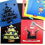 Hillento 6 packs (36 pièces) peinture pochoir en plastique animaux modèles de dessin pour enfants pour l'artisanat des enfants, six modèles différents de modèles de peinture, modèle lavable pour les projets scolaires de la marque Hillento image 2 produit