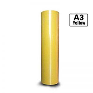 Hoho 0.3mx10m Rouleau de transfert de chaleur en vinyle de coupe film DIY T-shirt HTV fer à repasser–sur les papiers pour machine de coupe 0.3mx10m Roll jaune de la marque HOHO image 0 produit