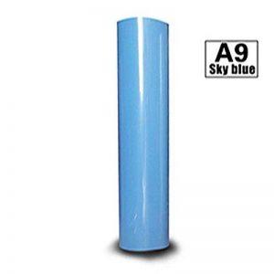 Hoho 30cmx50cm transfert de chaleur en vinyle PU thermocollant papiers DIY t-shirts HTV pour Cricut et Cameo Silhouette (Vert clair) de la marque HOHO image 0 produit