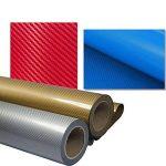 Hoho Motif fibre de carbone Bleu pour homme en vinyle de transfert de chaleur à repasser sur papier transfert Imprimé en vinyle 50,8x 50,8cm de la marque HOHO image 1 produit