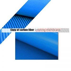 Hoho Motif fibre de carbone Bleu pour homme en vinyle de transfert de chaleur à repasser sur papier transfert Imprimé en vinyle 50,8x 50,8cm de la marque HOHO image 0 produit