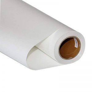 Hoho PU thermocollant en vinyle de transfert de chaleur de coupe film pour T-shirt DIY (50cmx50cm) 30CMX50CM blanc de la marque HOHO image 0 produit