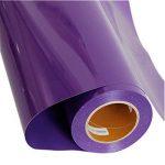 Hoho PVC thermocollant en vinyle de transfert de chaleur de coupe film T-shirt pour les vêtements DIY, Multicolors (50cmx50cm) 50cmx50cm violet de la marque HOHO image 2 produit