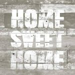 Home Sweet Home Taupe Beige Blanc 20 x 3 plis Lot de serviettes en papier et floral support pour serviettes de table de la marque Napkins & Holder image 1 produit