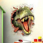 HOOLEE 50 * 70 cm Stickers muraux de Dinosaure 3D Autocollant de Maison Décoration créative Sticker animal de la marque HOOLEE image 3 produit