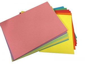 House of Card & Format A5 220 g/m²-Papier cartonné Assortiment de couleur vive Pastel 10/Lot de 25 feuilles) de la marque House of Card & Paper image 0 produit