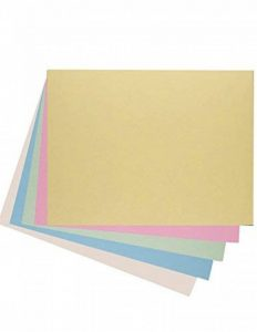 House of Card & papier A2 220 g/m² Pastel coloré carte – Assortis (lot de 50 feuilles) de la marque House of Card & Paper image 0 produit