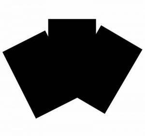 House of Card & papier Format A3210g/m² carte–Noir (Lot de 50feuilles) de la marque House of Card & Paper image 0 produit