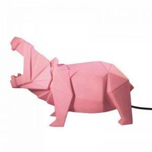 House of Disaster Grande lampe hippopotame rose origami pour chambre d'enfants EURHIPPK de la marque House of Disaster image 0 produit