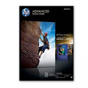 HP Advanced Photo Paper glace Papier jet d'encre Photo 250g de la marque HP image 0 produit