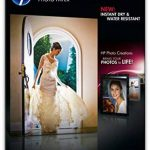 HP CR672A Papier photo premium plus A4 Brillant de la marque HP image 1 produit