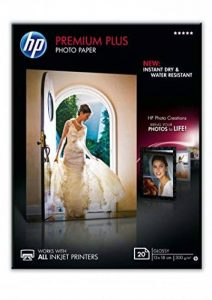 HP CR676A Papier photo premium plus 13 x 18 Brillant de la marque HP image 0 produit