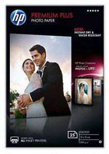 HP CR677A Papier photo premium plus 10 x 15 Brillant de la marque HP image 0 produit