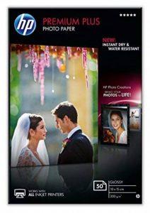 HP CR695A Papier photo premium plus 10 x 15 Brillant de la marque HP image 0 produit