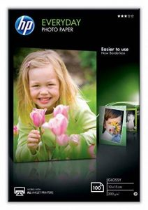 HP CR757A Papier photo 100 feuilles 200 g 10 x 15 cm Brillant de la marque HP image 0 produit
