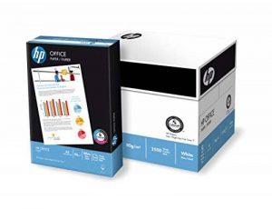 HP Office - Boîte de 5 rames de 500 feuilles de papier (2500 feuilles, A4, 80 g/m²) blanc de la marque HP image 0 produit