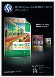 HP Papier photo brillant A4 (210 x 297 mm) 200 g/m2 100 feuilles de la marque HP image 0 produit