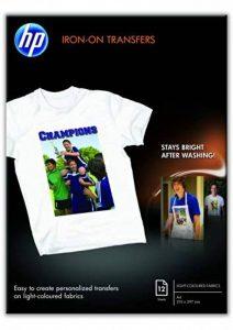 HP Papier Transferts sur T-shirt de la marque HP image 0 produit
