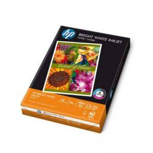 HP Ramette 500 feuilles Papier Jet d'encre A4 90g Bright Blanc de la marque HP image 0 produit