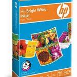 HP Ramette 500 feuilles Papier Jet d'encre A4 90g Bright Blanc de la marque HP image 2 produit