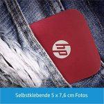 HP Sprocket Imprimante Photo Portable (Bluetooth, Impression Couleur sans Encre 5 x 7,6 cm) Rouge de la marque HP image 2 produit
