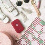 HP Sprocket Imprimante Photo Portable (Bluetooth, Impression Couleur sans Encre 5 x 7,6 cm) Rouge de la marque HP image 5 produit