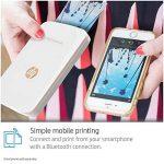 HP Sprocket Plus Imprimante Photo portable (Bluetooth, Impression Couleur sans Encre 5,8 x 8,6 cm) Blanc de la marque HP image 1 produit