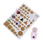 HTINAC Kit de Papier Quilling avec 8 Outils et 30 Couleurs 600 Bandes de Papier Quilling Couleurs Assorties pour DIY Décoration Maison, Magasins, Mariage etc (Bandes Largeur de 5 mm) de la marque HTINAC image 4 produit