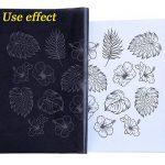 Hulubb 60 Feuilles De Transfert De Carbone Papier Graphite Papier Calque Pochoir Utilisé Pour Bois Papier Toile Métal Peint Art Surfaces (22.9 X 33 cm) de la marque HuLuBB image 1 produit