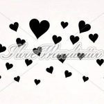 "I-love-Wandtattoo Sticker mural 10236Sticker mural ""Cœur (25pièces) Chambre Stickers muraux Stickers muraux lavande de la marque I-love-Wandtattoo image 1 produit"
