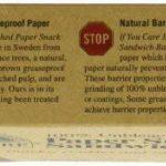 If You Care 48Sacs à sandwich et goûter Papier (Lot de 6, 288Sacs au total) de la marque CARE OF YOU image 3 produit