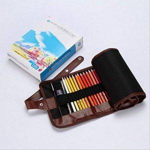 iiinsixfr 48 couleurs crayon de couleur soluble dans l'eau ensemble art peinture dédié croquis crayon de la marque iiinsixfr image 0 produit