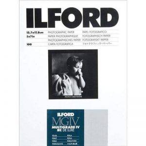 Ilford 1771019 Papier Photo 12,7 x 17,8 cm 100 feuilles de la marque Ilford image 0 produit