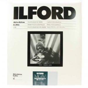 Ilford 1771284 Papier Photo 20,3 x 25,4 cm 25 feuilles de la marque Ilford image 0 produit
